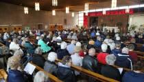 Paas-Ziekenviering in de Mariakerk werd druk bezocht