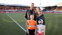 Sem Kras mascotte van FC Volendam
