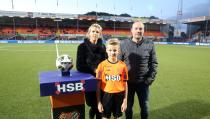 Finn Karhof mascotte van FC Volendam