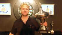 Kees Ollie Dartskampioen van Volendam