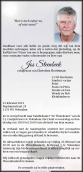 Dhr. J. Steenbeek