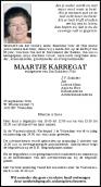 Mevr. M. Karregat