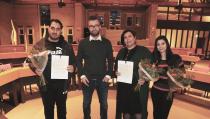 Participatieverklaring ondertekend door 19 vergunninghouders uit Syrië