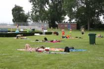 Eerste drukke dagen voor de zwembaden