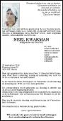 Mevr. N. Kwakman