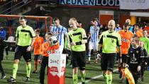Levi Tuijp mascotte van FC Volendam